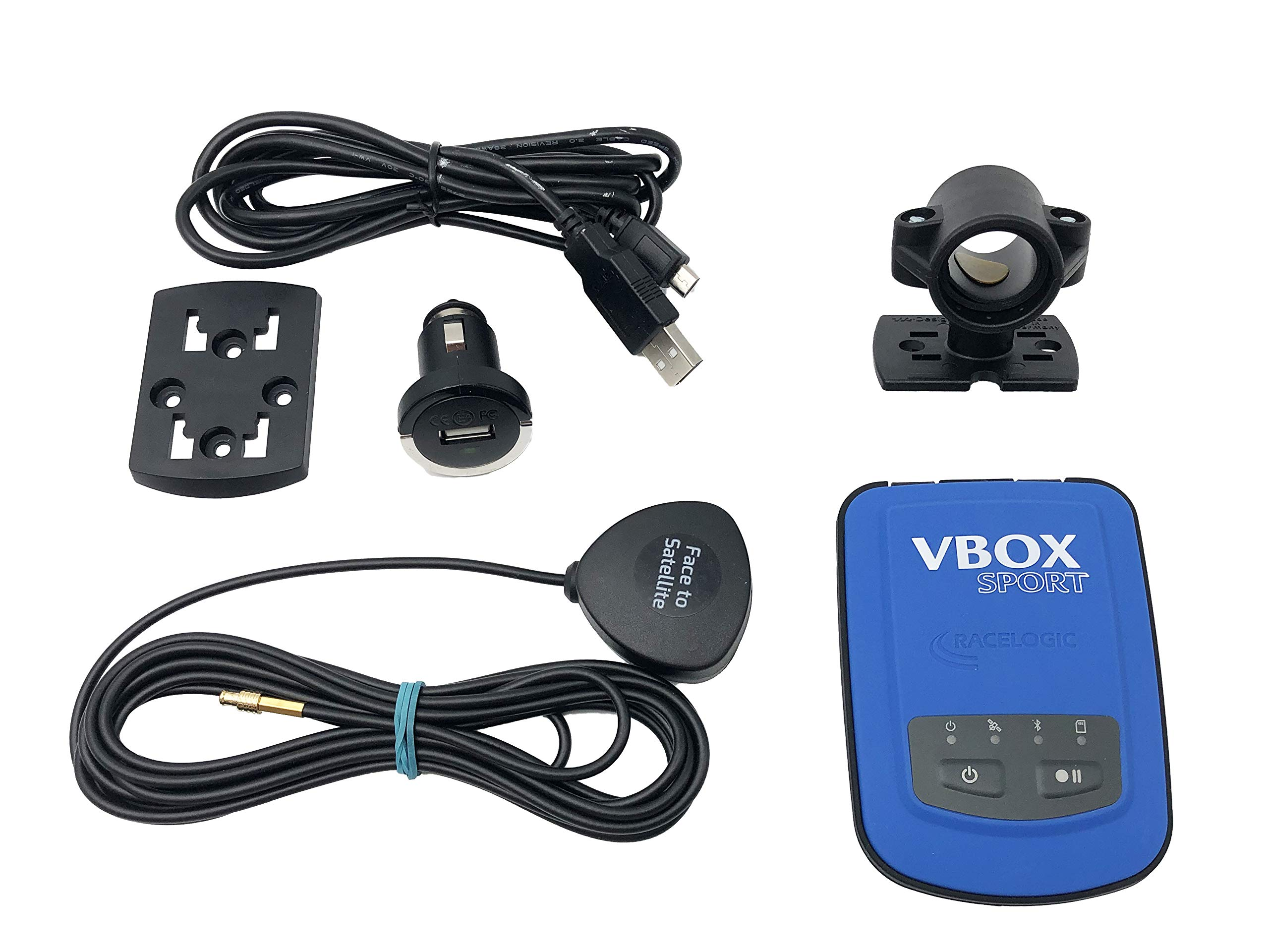 Racelogic VBOX Sport with Bar Mount and GPS Magnetic Antenna by Racelogic