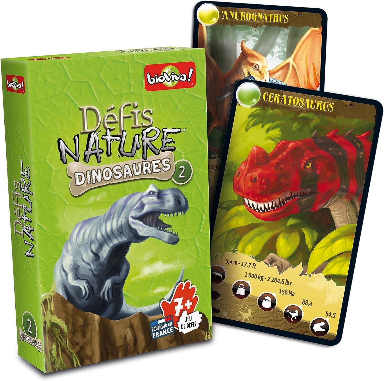 Bioviva - Juego de Cartas Dinosaurios (101013114) (Importado): Amazon.es: Juguetes y juegos