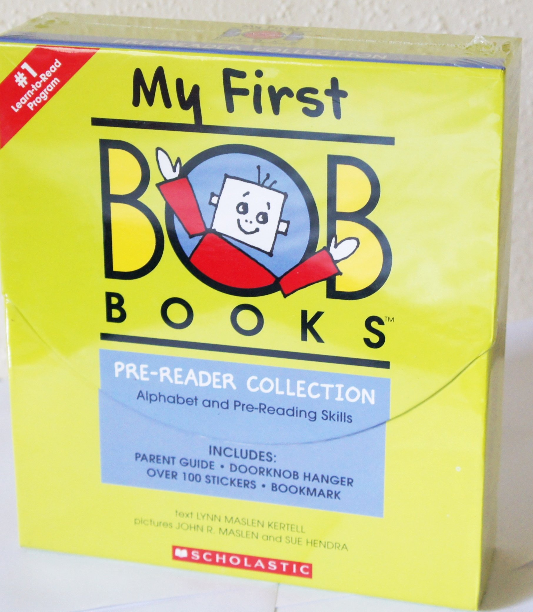 My First BOB Books COLLECTION Box Set [Alphabet & Pre-reading Skills] [24 Books] (Age 2 and Up)
