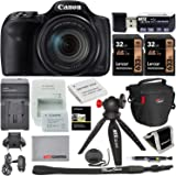 Canon PowerShot SX540 HS Camera with 2 Lexar 32GB Memory Card, Table-Tripod, Camera Bag, Memory Card Reader/Writer, and…