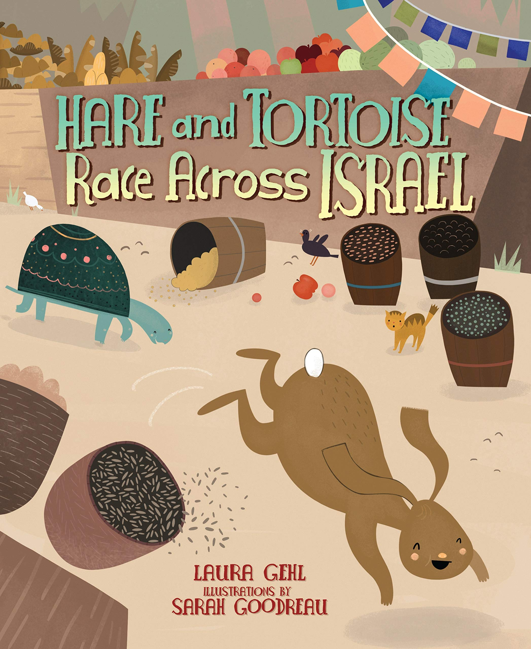 Hare and Tortoise Race Across Israel ebook