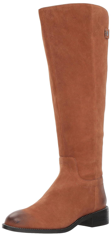 Franco Sarto Women's Brindley Wide Calf Fashion Boot B000RO4BIG 8 B(M) US|Whiskey/Whiskey