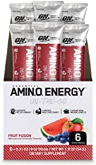 Optimum Nutrition Amino Energy - Pre Workout with Green Tea, BCAA, Amino Acids, Keto Friendly, Green Coffee Extract, Energy P