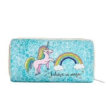 Fairy Unicorn Purse with Unicorn Zip Fob