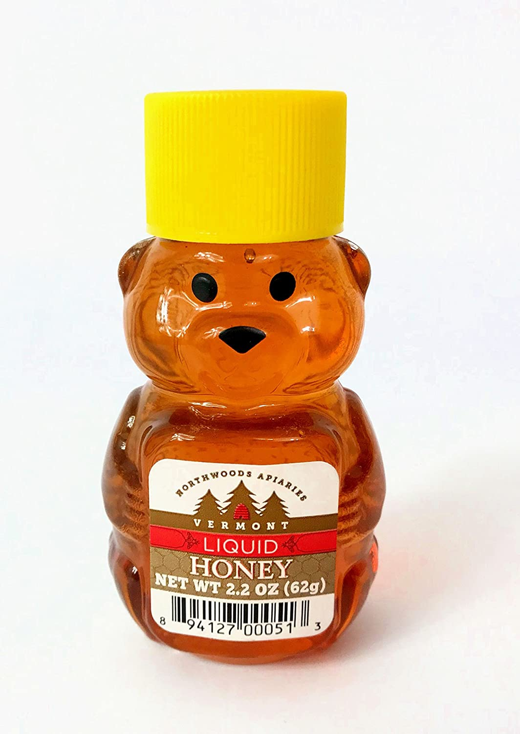 Amazon.com : Vermont Pure Organic Honey Mama Baby Bear cub squeeze bottles : Grocery & Gourmet Food