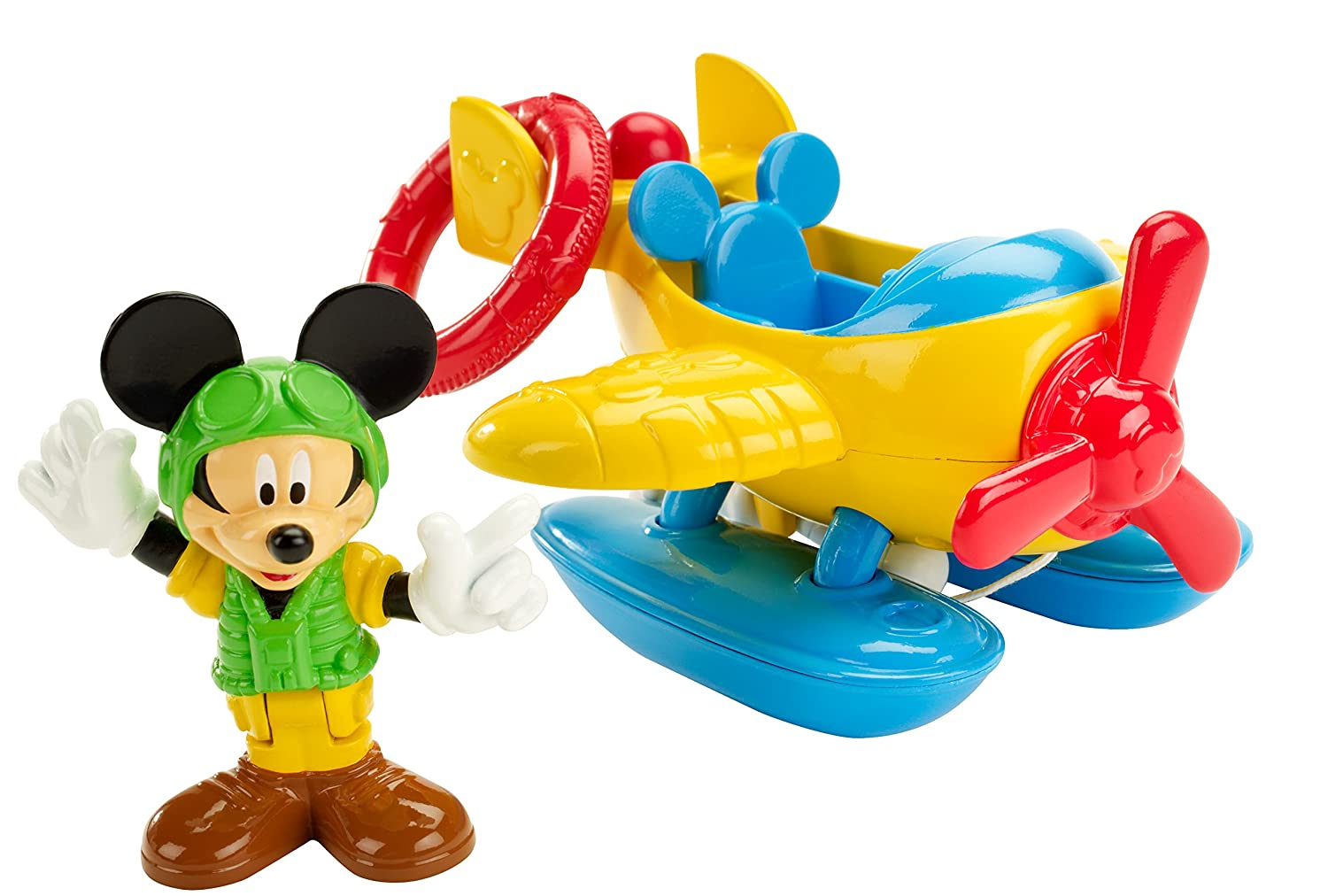 Buy Fisher-Price Disney Mickey Mouse Clubhouse Rescue Plane Playset ...