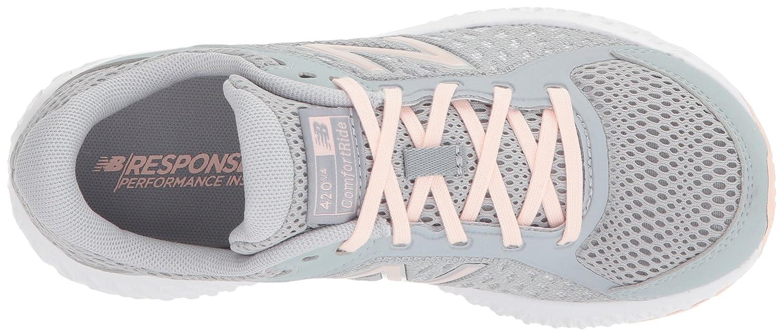 New Balance Women's 420v4 Cushioning Running Shoe B06XSBY166 6 B(M) US|Silver Mink
