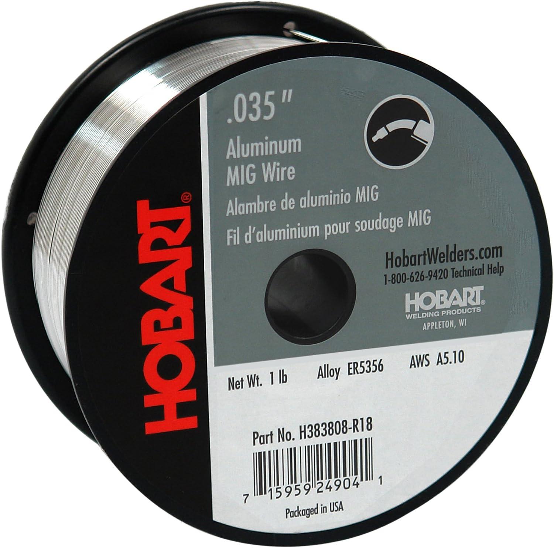 Hobart H381806-R18 1-Pound ER4043 Aluminum Welding Wire 0.030-Inch