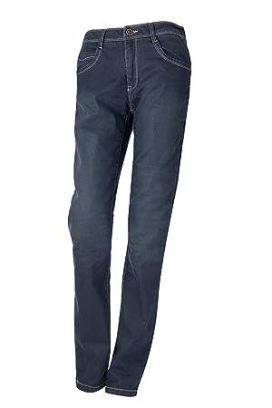 Esquad MEDI M. SLIM Pantalón de Vaquero para Moto, Blue Sd ...