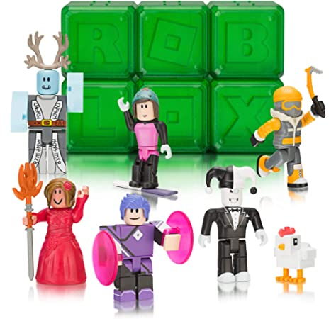Roblox Series 3 Patient Zero Mini Figure Without Code No Packaging - Amazoncom Roblox Series 5 Mystery Figure Six Pack Toys