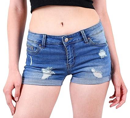 Teen girl stretch shorts all