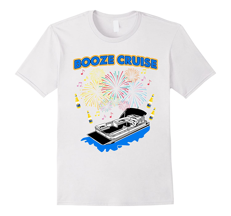 Funny Pontoon T-shirt – BOOZE CRUISE Pontooning Tee