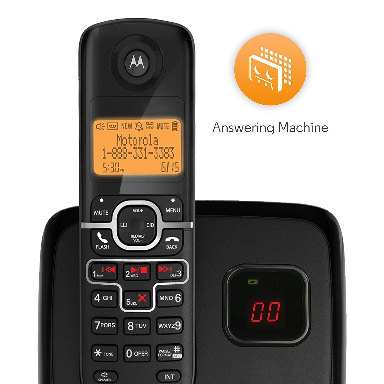 amazon com motorola dect 6 0 enhanced cordless phone with handset rh amazon com