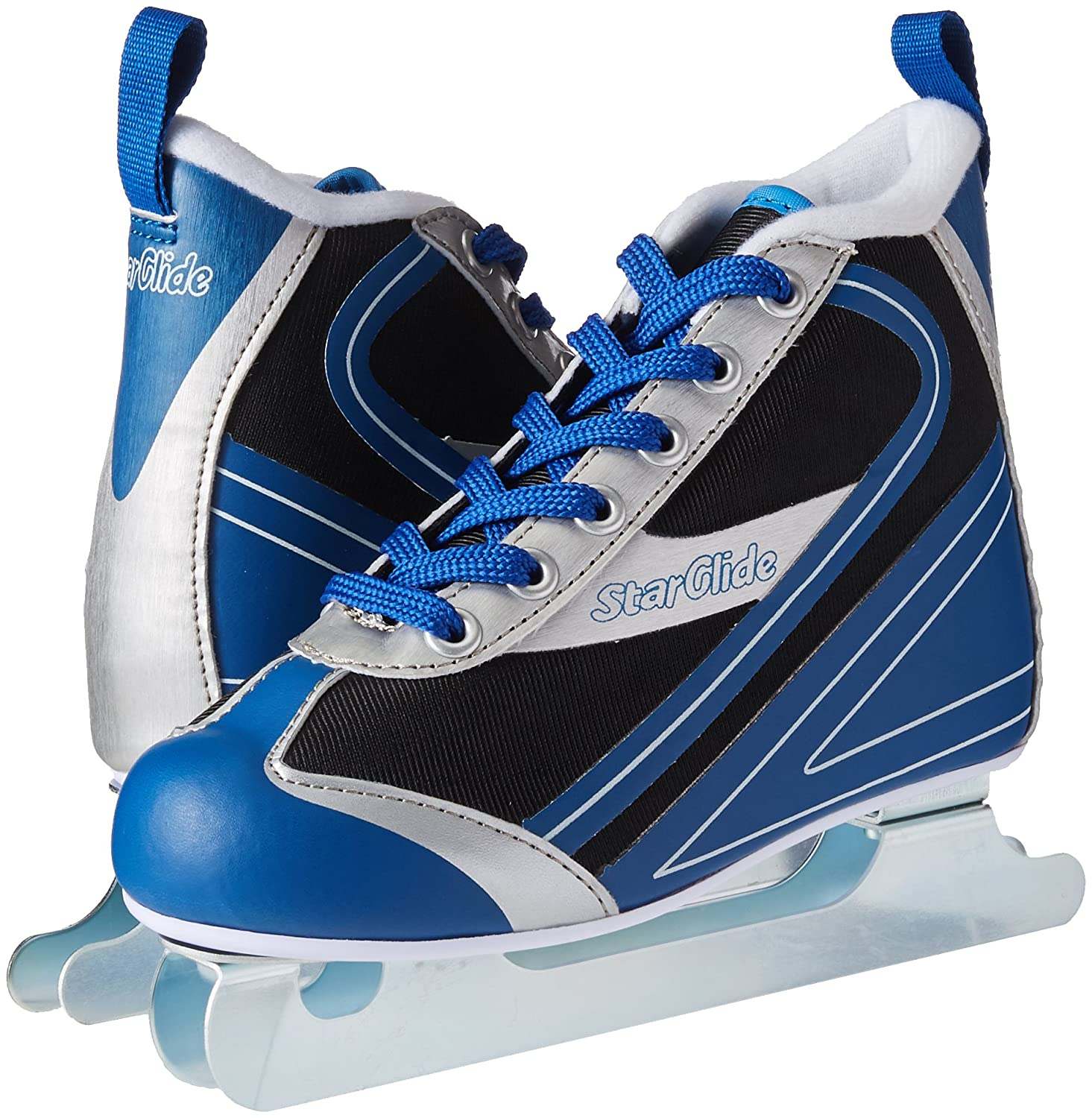 Lake Placid Starglide Boys Double Runner Figure Ice Skate