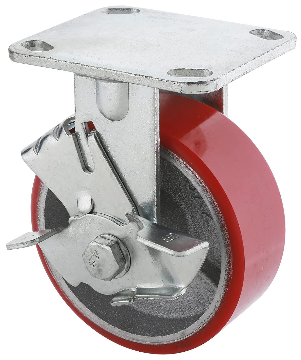 Steelex D2557 Locking Heavy Duty Industrial Wheel 5 Inch