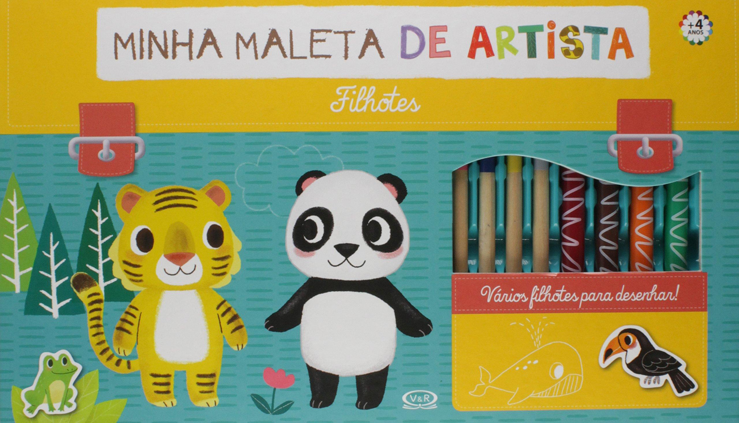 Minha Maleta de Artista. Filhotes (Em Portuguese do Brasil) (Portuguese Brazilian) Book Supplement – 2016