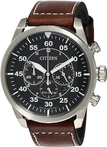 Watch Citizen Aviator Ca4210 16e Men S Black Watches