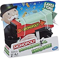 Hasbro Gaming Monopoly Millonario al Instante Game