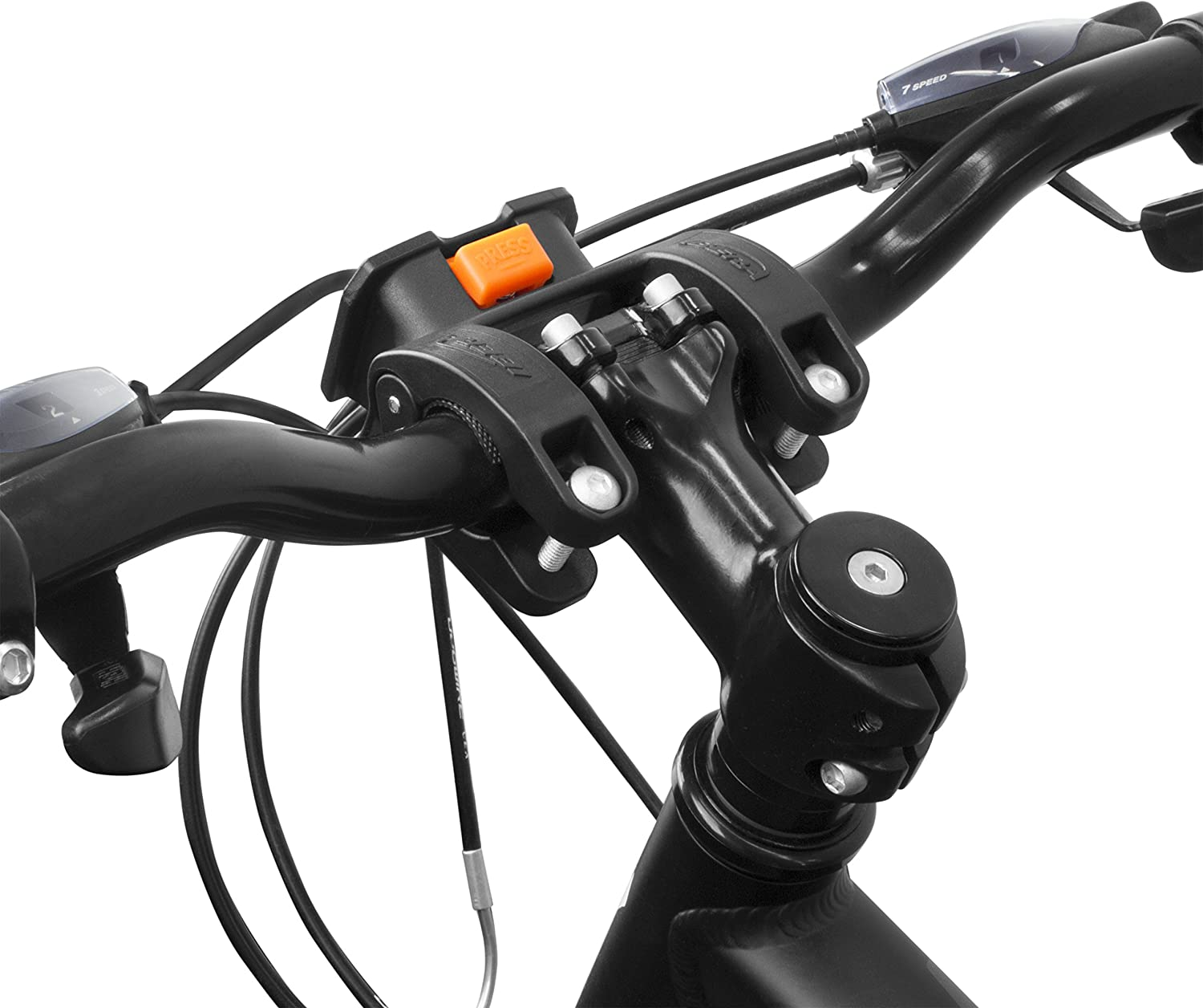 IBERAUSA Adjustable Handlebar Mount for Bike, Quick-Release, for IB-HB3, IB-HB4, IB-HB5 and IB-HB8 (IB-HB-Mount)