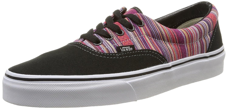 Vans ERA Unisex-Erwachsene Sneakers  35 EU Mehrfarbig (Guate Weave/Black/Multi)