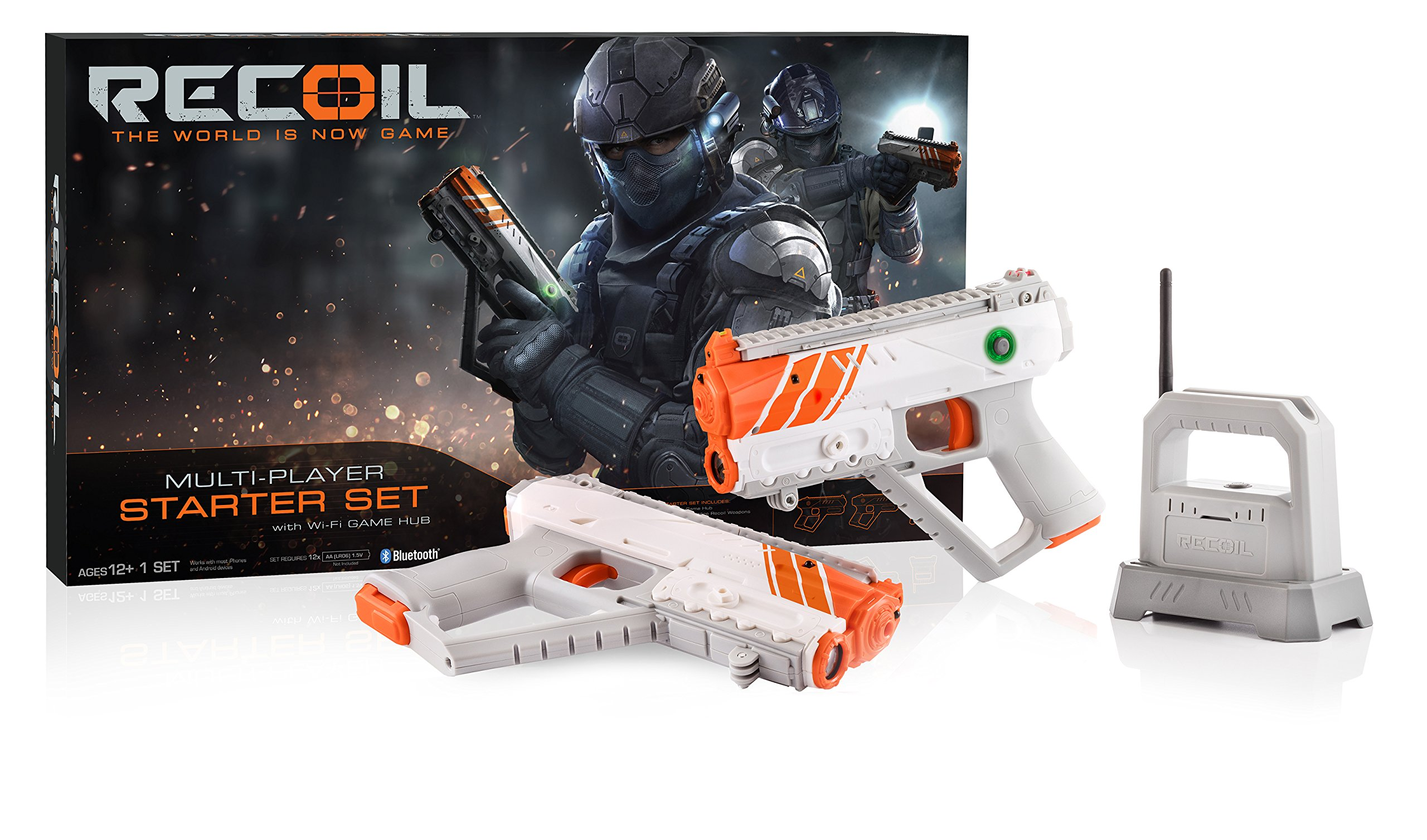 Recoil Laser Tag Starter Set, GPS enabled Multi-Player Smartphone Game by Recoil (Image #3)
