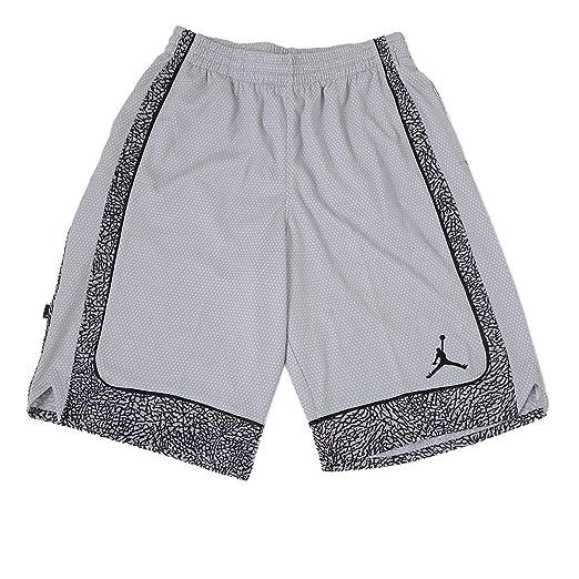 e77a2431ade4 Amazon.com  Jordan Nike Boys  Elephants Print Dri-Fit Basketball Shorts   Sports   Outdoors