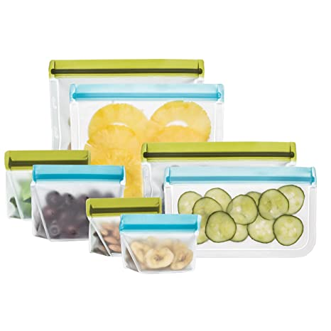 Amazon.com: rezip Deluxe 8-Piece resusable Kit de bolsa de ...