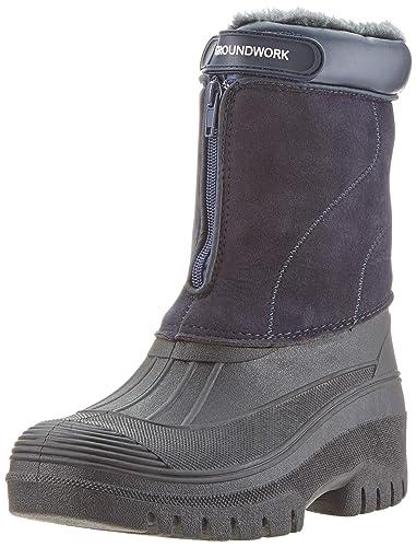 buy online 2143c 75534 Groundwork LS88 Stivali invernali in gomma da uomo, per la stalla, il  giardino o la neve, impermeabili