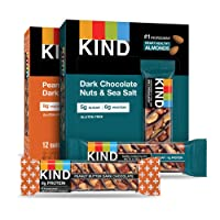 Deals on 24 Count KIND Bars, Variety Pack, Gluten Free, 1.4 Ounce Bars