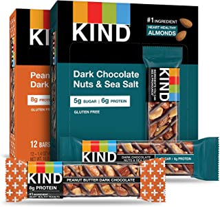 product image for KIND Bars, Variety Pack, Gluten Free, 1.4 Ounce Bars, 24 Count