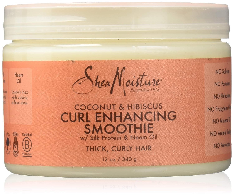 Shea Moisture Coco y Hibiscus Curl Smoothie, 1 unidad