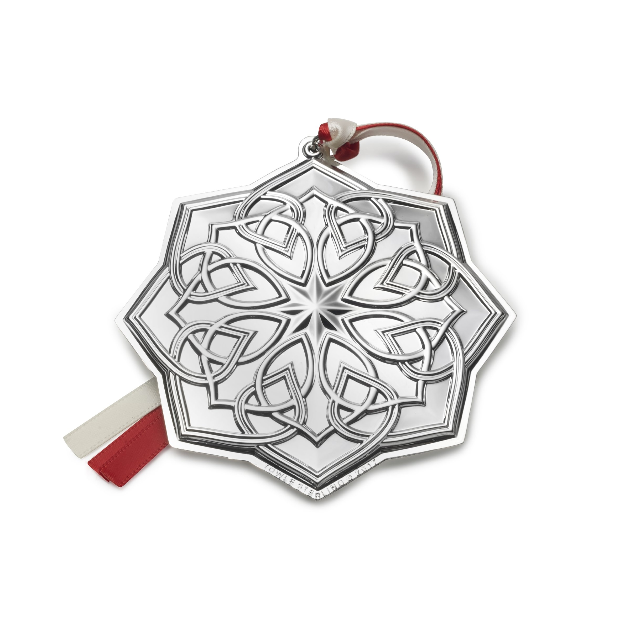 Towle 2017 Sterling Silver Celtic Ornament, 18th Edition by Towle