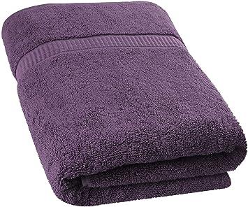 Utopia Towels - Toalla de baño Extra Grande y Suave Lavable en la Lavadora (89 x 178 cm) (Ciruela): Amazon.es: Hogar