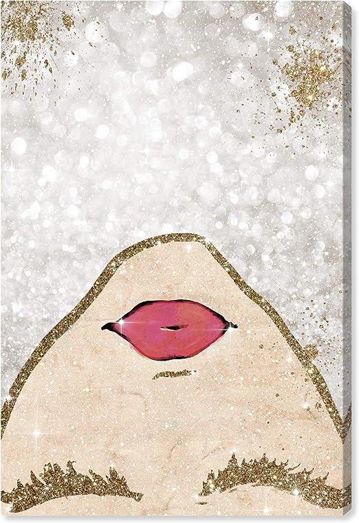 Abstract Stylish Glitter Effect beauty room bedroom office Fashion Scandi Art