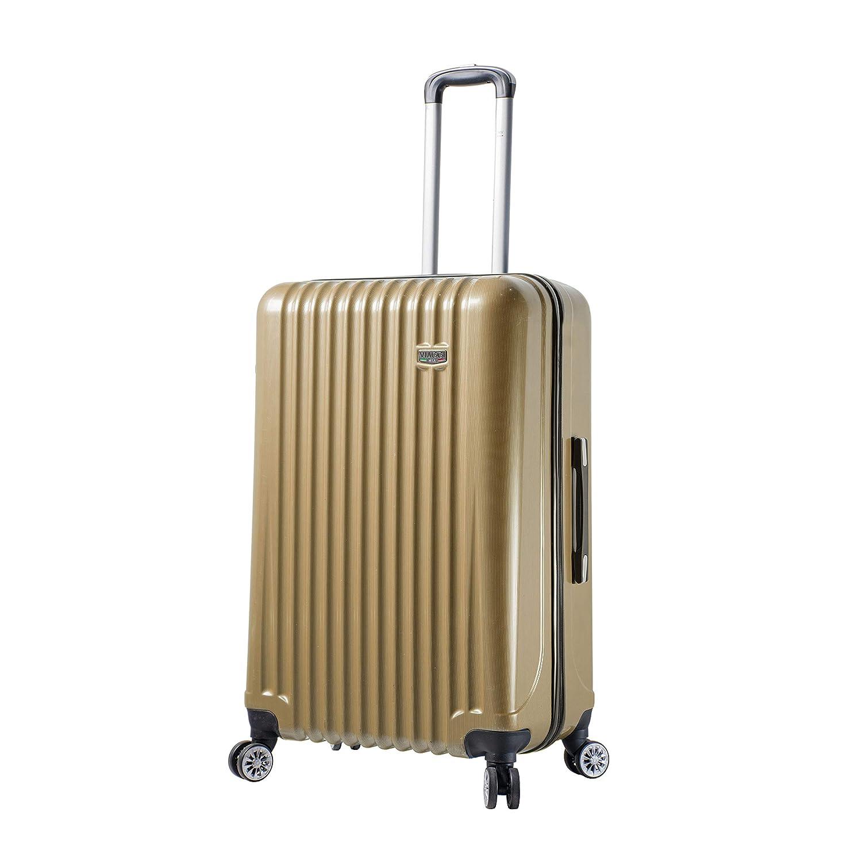 Viaggi, V1047-28IN-CHAN スーツケース, シャンパン(Chartreuse), One Size B07MVX52SV