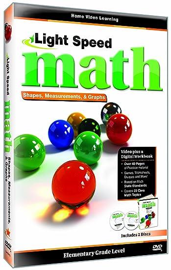 Amazon.com: Light Speed Math: Shapes, Measurements & Graphs ...