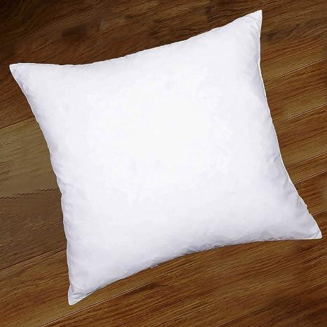"50cm x 50cm 4 x 20/"" x 20/"" Luxury White Duck Feather Cushion Pad Inner Inserts"