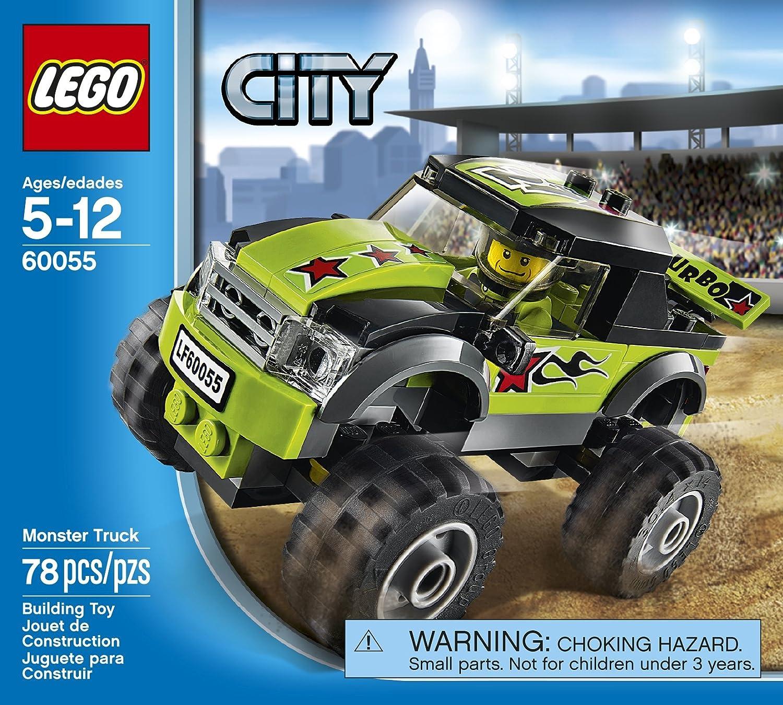 amazon com lego city great vehicles 60055 monster truck toys u0026 games