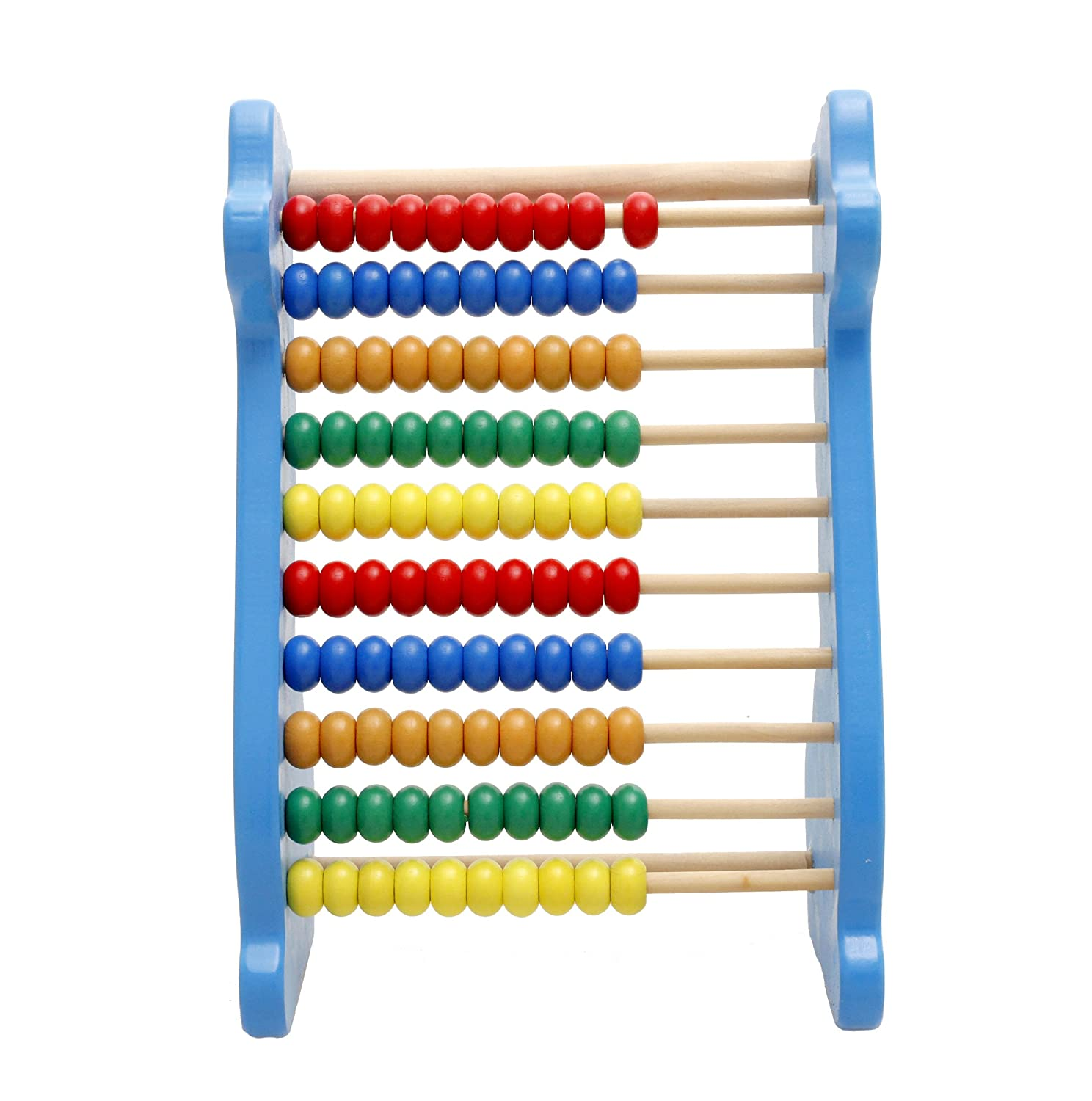 Abacus Wall Art Amazoncom Lewo Wooden Abacus Classic Math Educational Counting