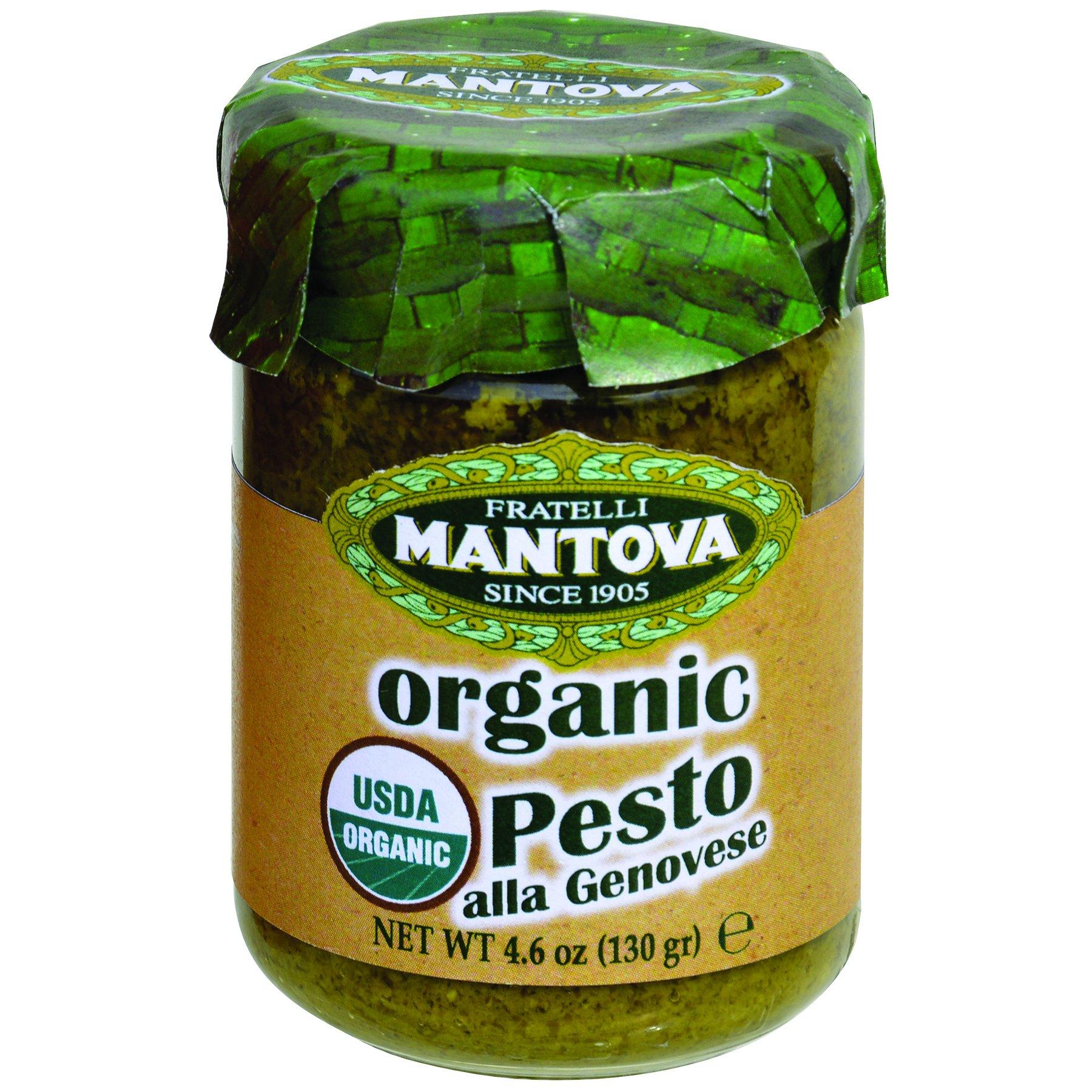 Mantova Organic Pesto Genovese, 4.6 Ounce (Pack of 4)