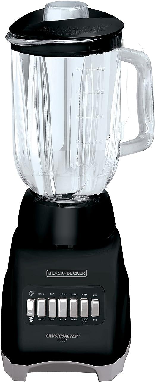 Black & Decker Crushmaster Pro Batidora de vaso 1.25L 550W Negro ...