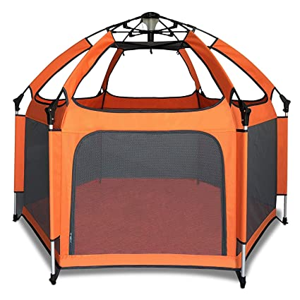 Pop N Play Summer Infant Portable Playard and Canopy Kids Baby Child Outdoor NEW