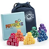 Poppycock Family Dice Game | Fun & Creative Kids Dice Games | Board Games for Families | Children Dice Games For Learning | Unique Adult Dice Game Set for Game Night | Dice Games for Families