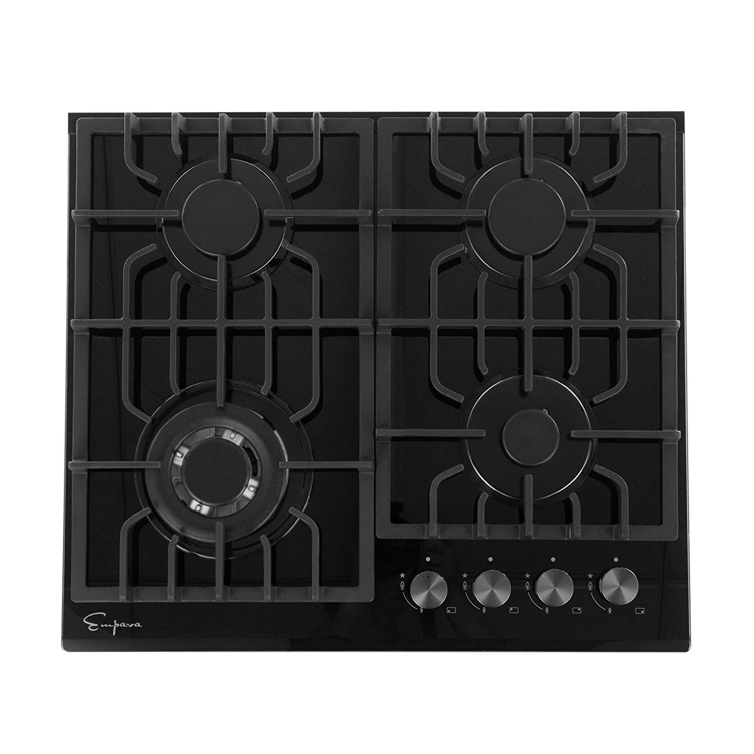 Empava EMPV-24GC902 Gas Stove Cooktop, 24 Inch