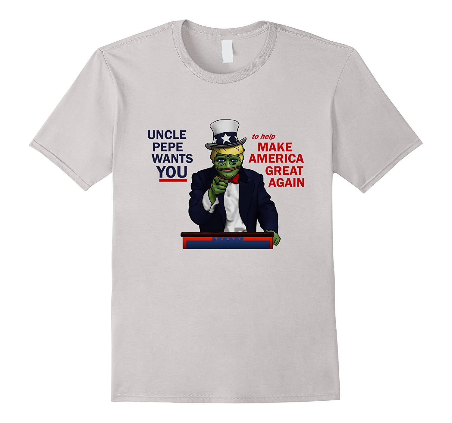 Uncle Pepe Wants YOU Trump Pepe T-Shirt-RT