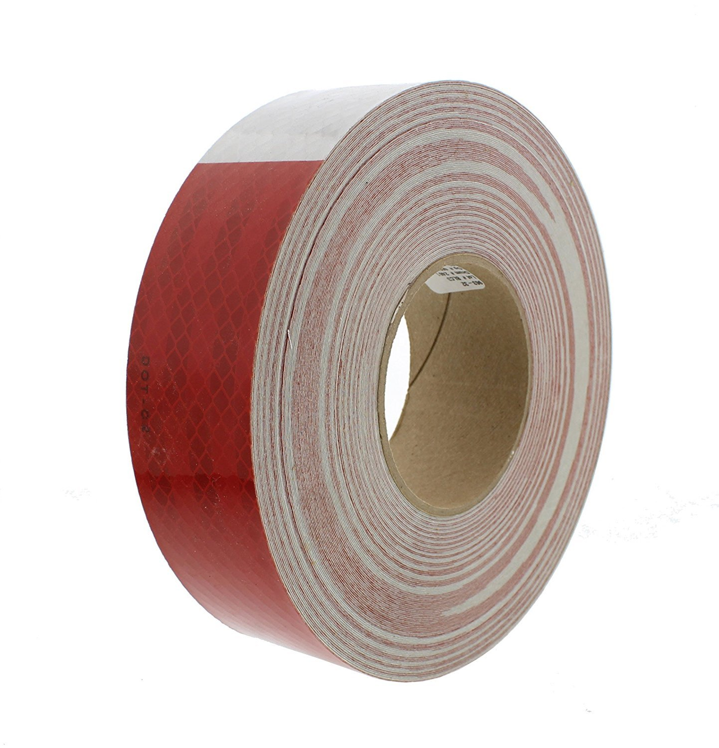 "3M 22494 Red and White Reflective Tape - 2"" x 150'"