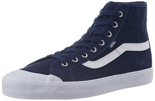 d56513047d Vans Men s Black Ball Hi SF Dressblues Canvas Sneakers - 9 UK  Buy Online  at Low Prices in India - Amazon.in