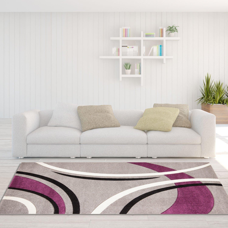Tappeto da salotto, dal design moderno, motivo archi, colore ...