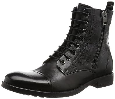 d4d8be5dcaad DIESEL - Boots - Homme - Boots Lacet Zippé Coté Noir Kallien pour Homme - 41
