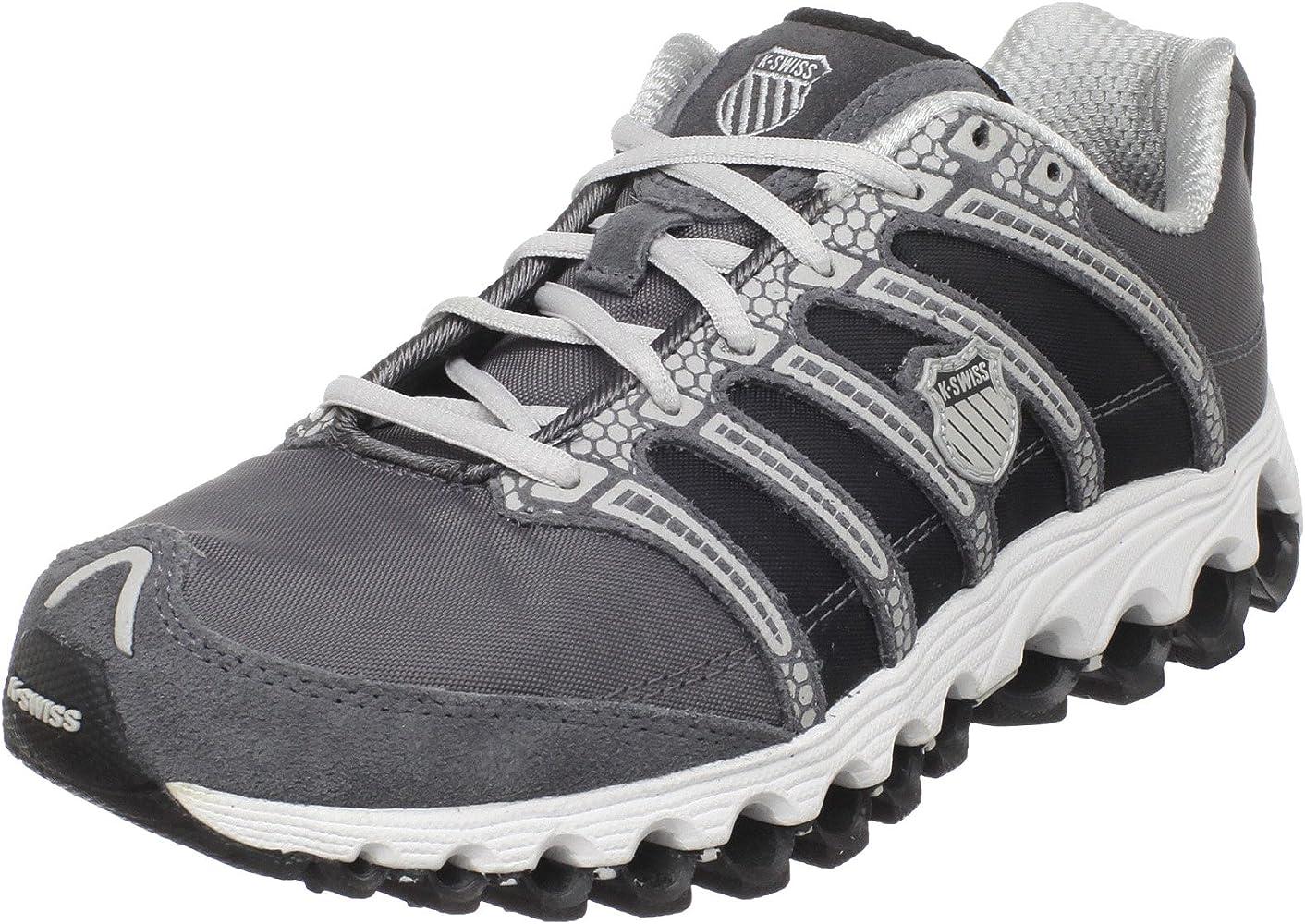 K-Swiss 02661 - Zapatillas de Tenis para Hombre, Color Gris, Talla 39.5: Amazon.es: Zapatos y complementos